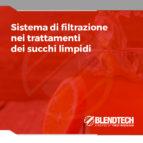 Sistema filtrazione succhi limpidi
